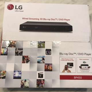 LG Blu-ray Disc/DVD Player BP 450