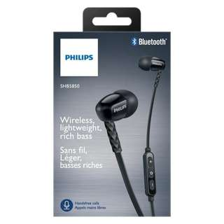 HANDFREE BLUETOOTH HEADSET BLUETOOTH EARPHONE BLUETOOTH PHILIPS SHB 5850