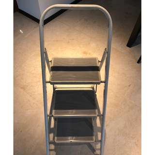 Geberit 3 Steps Aluminium Ladder