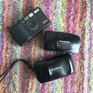Compact film cameras