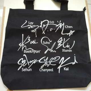 Tote Bag exo kpop
