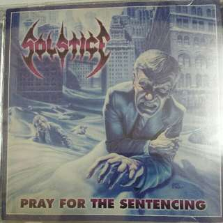 Music CD (Metal, 2xCD): Solstice ‎– Pray For The Sentencing - U.S. Divebomb Records Pressing - Cult Death Metal, Thrash Metal