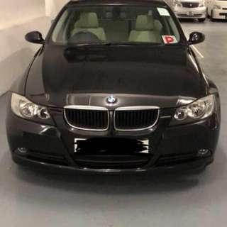 BMW 320I (1991cc) 2006 租車 日租 汽車出租 私家車出租 租私家車 週租 月租 租花車 car rent