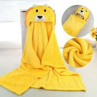 Babies hoddy towel