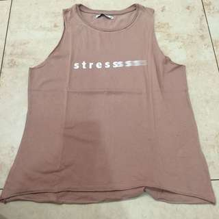 pull and bear tank top