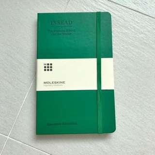Insead Moleskine Notebooks