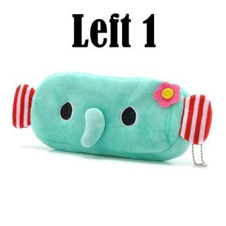 3D Cartoon Pencil Case, Pencil Box, Makeup, Cosmetic Pouch - Elephant Kid (FREE POSTAGE)