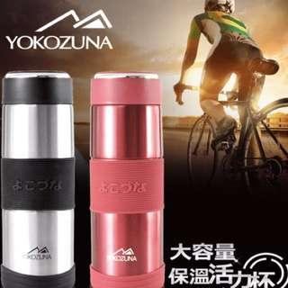 【YOKOZUNA】316不鏽鋼保冰保溫杯800ml