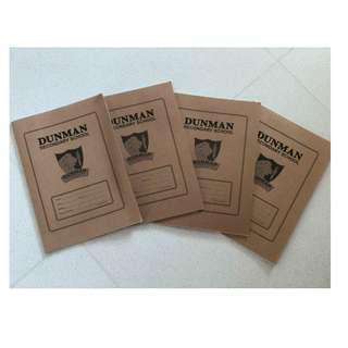Dunman Secondary School Workbook A4 Size