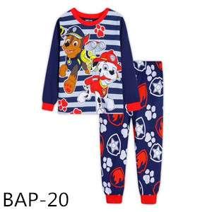 Paw Patrol chase and Marshall Long sleeve Pajamas BAP20