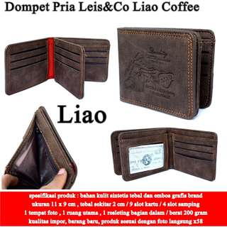 Dompet Pria Leis&Co Leather COFFE