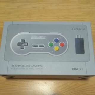 8Bitdo SF30 Wireless Gamepad + RECEIVER for Snes Famicom Classic