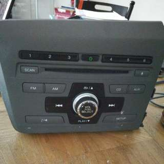 Honda Civic Original Radio Set
