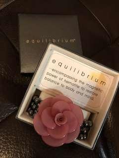 Equilibrium sparkle-Rose Bracelet