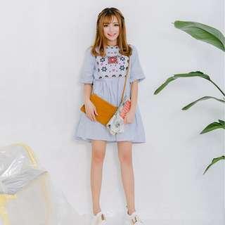 (Pre-order) Saffron Babydoll Dress