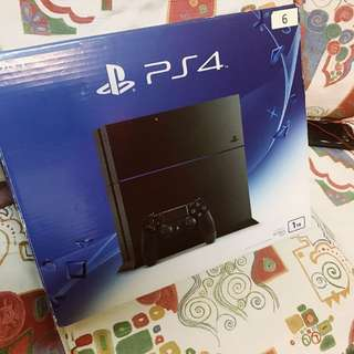 NEW PS4 1TB (Open to Nego)