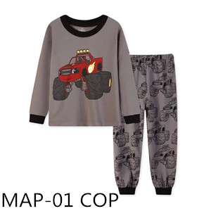 Blaze and the monster machine long sleeve pajamas MAP-01