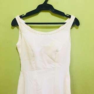 White Long Dress / Gown