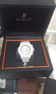 Hublot Geneve titanium ceramin chronograph