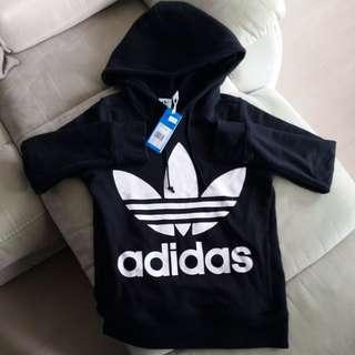Adidas hoodie 大logo