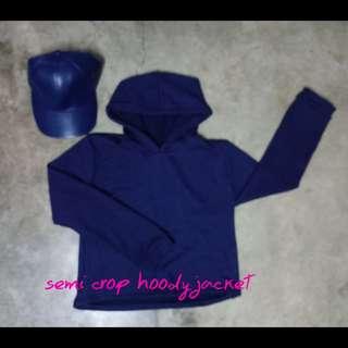Semi Croptop hoddy jacket