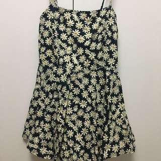 Floral Daisy Romper