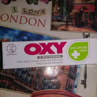 Oxy whitening anti pimple mark (new)
