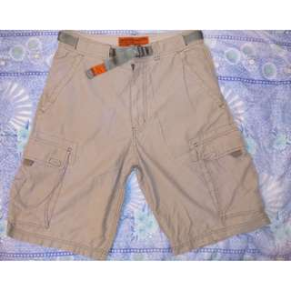 ABERCROMBIE AND FITCH 6-pocket Cargo Shorts