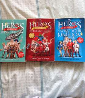Heroes Guide Trilogy ( all 3)