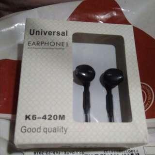 Universal Earphone