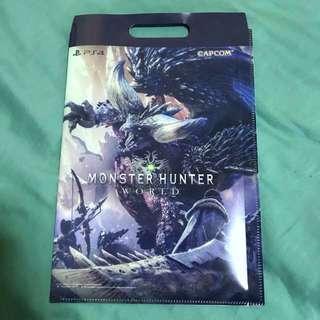 Monster hunter A4 folder / carrier