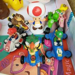 Mario McDonalds toy set