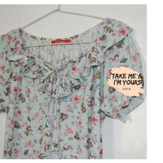 Baju motif bunga 💙
