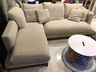 Sofa for sale (L-Shaped)
