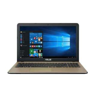 kredit laptop tercepat Asus X541NA-Bx401T Ram 4Gb HDD 500gb win10 ori