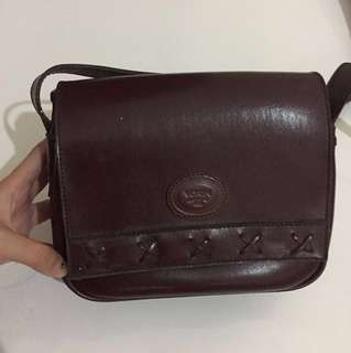 Vintage Leather Bag Ori Merk Vokin UK