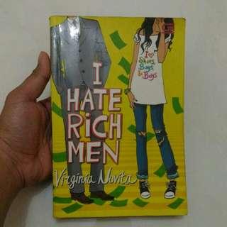 [PRELOVED] I Hate Rich Men by Virginia Novita
