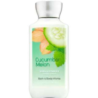 Authentic Bath and Body Works Lotion in Cucumber and Melon