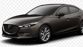 Car rental, mazda 3 for rental