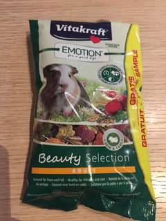 Free Vitakraft Guinea pig pet food