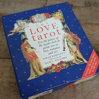 The Love Tarot set