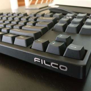 Filco Majestouch 2 TKL - Cherry Silent Red (pink) Mechanical Keyboard