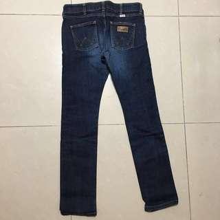 Wrangler low rise jeans Size27 彈性低腰牛仔褲👖