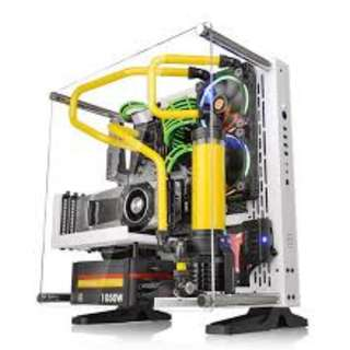 Thermaltake Core P3 Snow White - CA-1G4-00M6WN-00