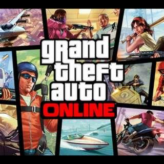 GTA online/GTA/GTAO 1.42 錢/等級代練