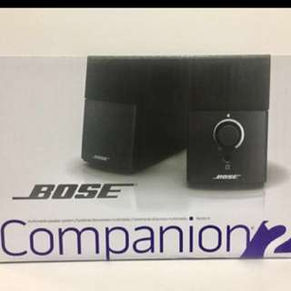 Bose companion 2 series 3 speakers