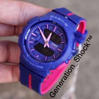 NEW🌟ARRIVAL in CASIO BABYG WATCH :  1-Year Official Warranty : 100% Originally Authentic BABY-G-SHOCK RESISTANT ABSOLUTELY TOUGHNESS in LAVENDER BLUE Stealth Matt BEST GIFT For Most Rough Users : BGA-240L-2A1DR / BGA-240 / BA-110