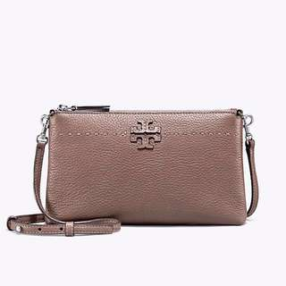 **限時優惠Tory Burch Top-Zip CrossBody 斜揹袋