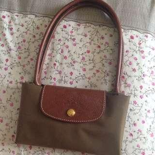 Longchamp bag army
