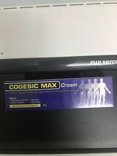 Cogesic max cream